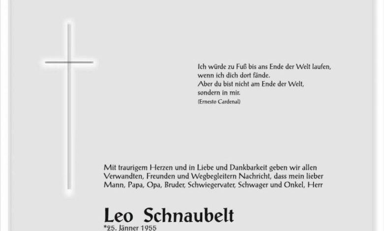 Leopold Schnaubelt, www.gitschtal.news